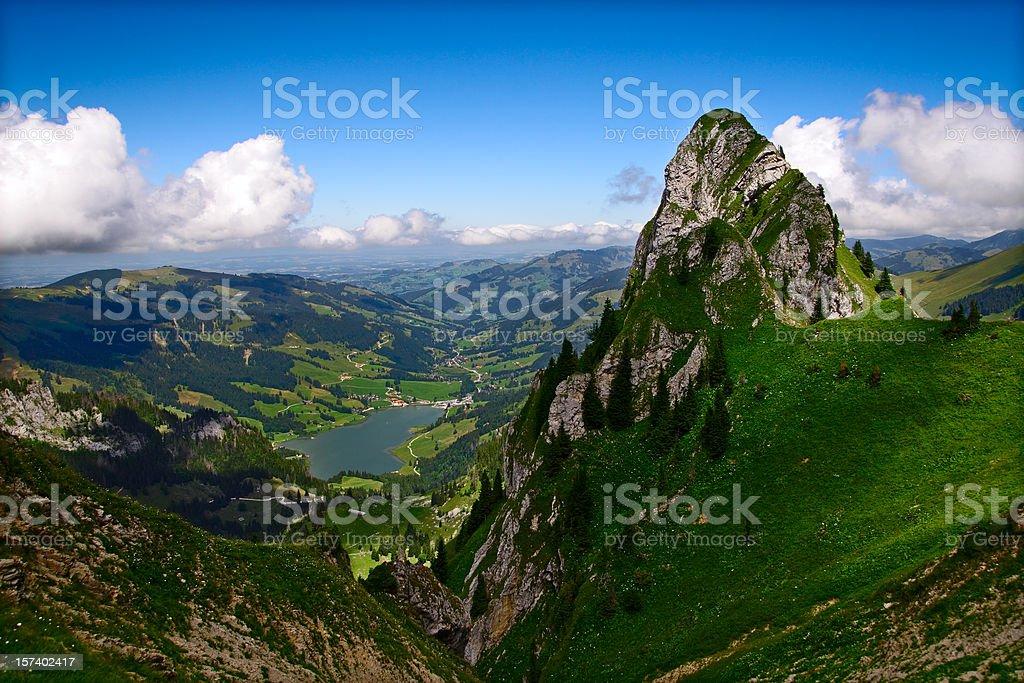 Alpine Idyll stock photo
