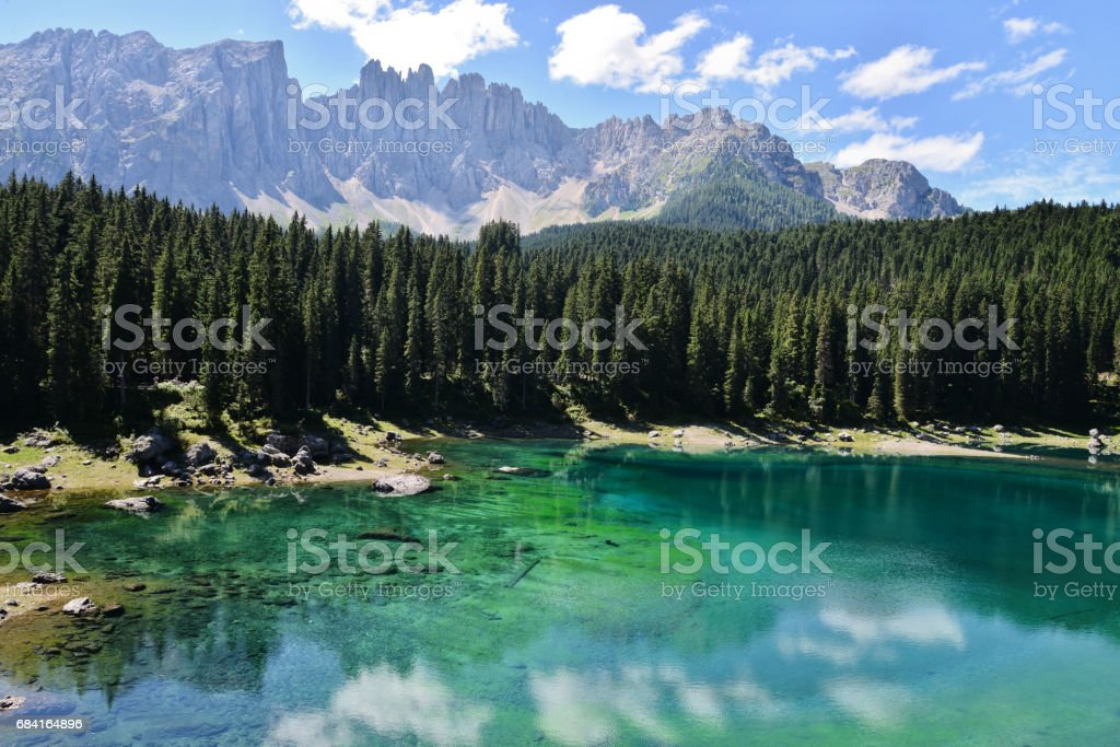 Alpine Lake royalty free stockfoto