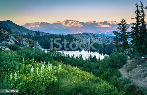 Sunset shot in the Sierra Nevada range. 8/16/2010