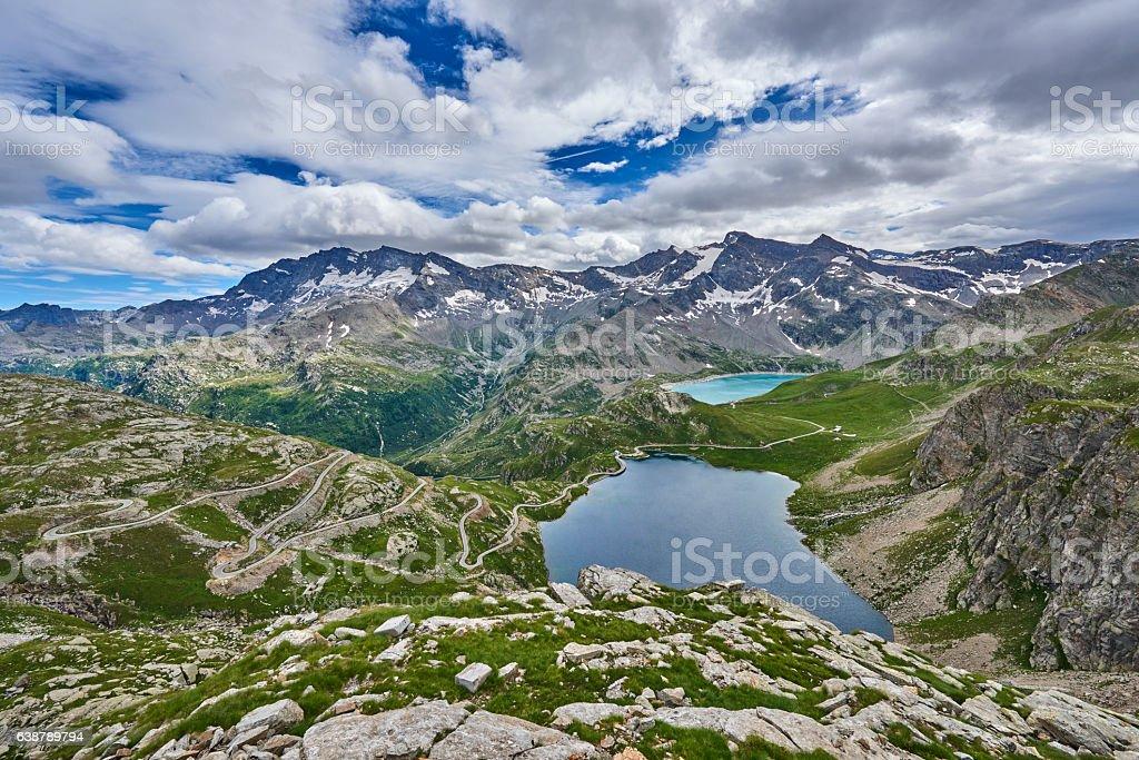 Alpine Lakes stock photo