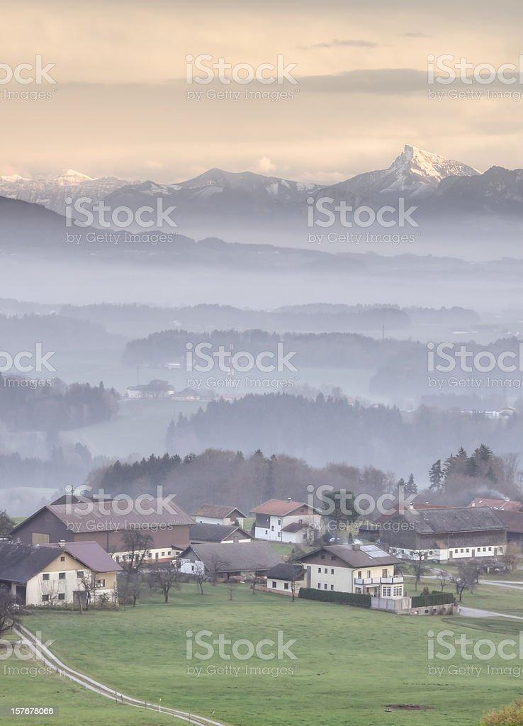 Alpine Landscape royalty-free stock photo