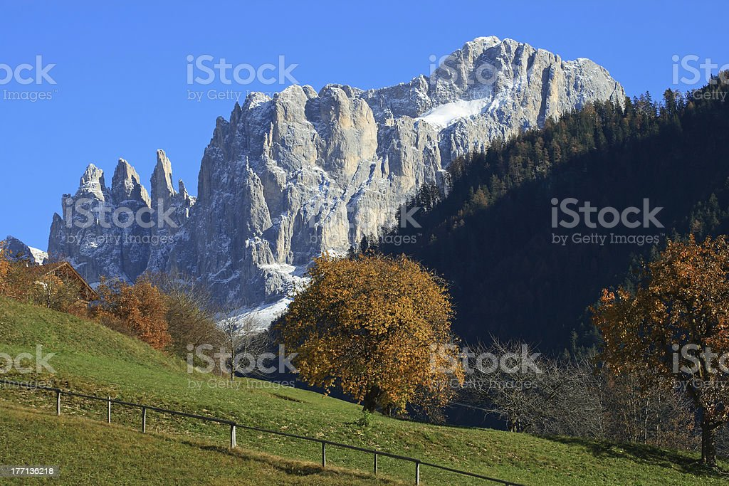 Alpine Landscape stock photo