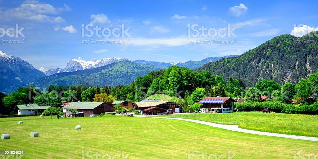 Alpine Landschaft  – Foto
