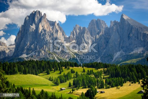 istock Alpine landscape xxxl 155382713