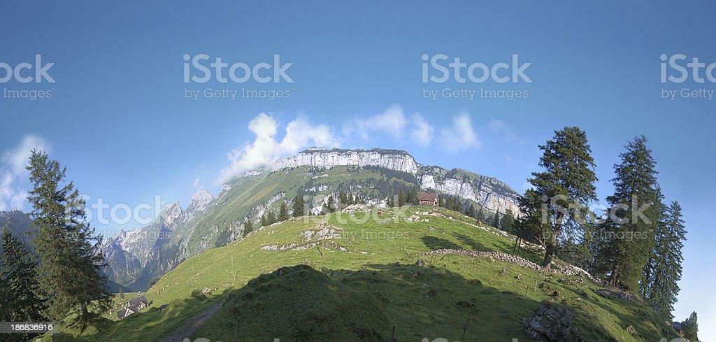 Alpine Morning royalty-free stock photo