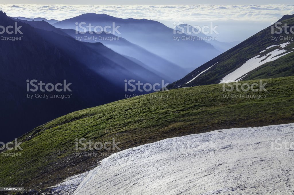 Alpine Morning stock photo