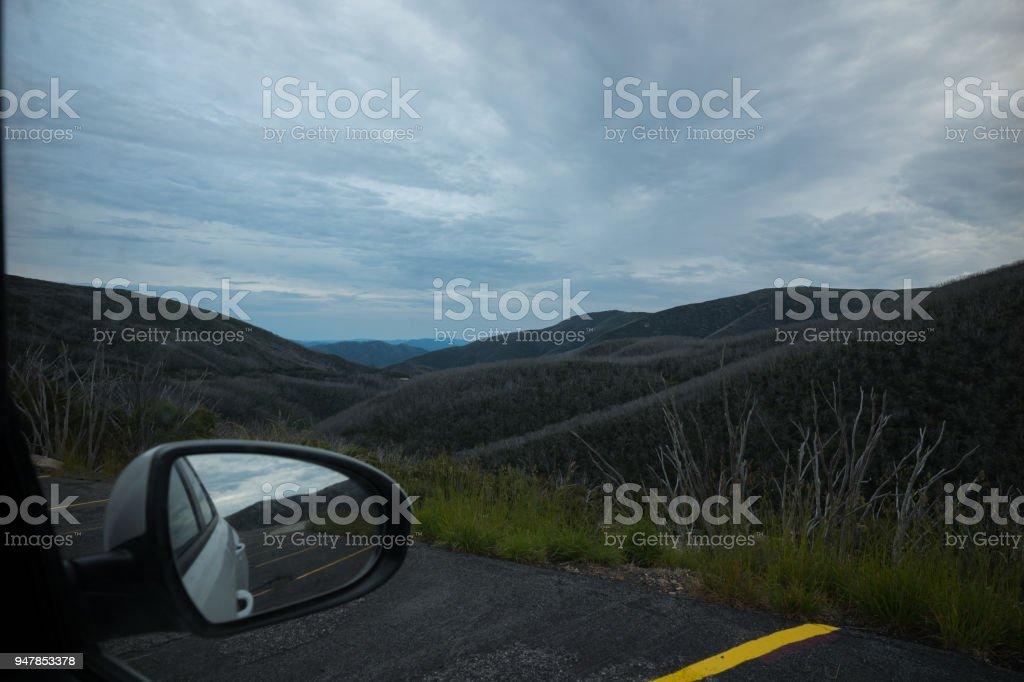 Alpine National Park, Australia stock photo