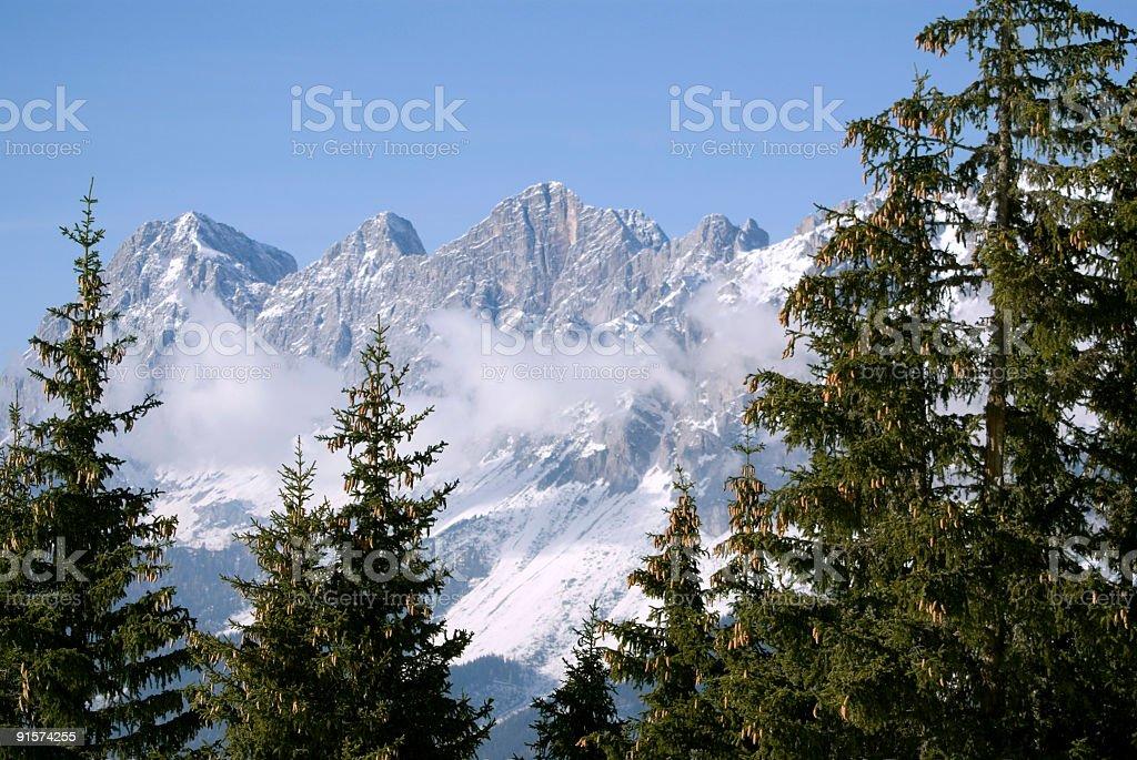 Alpine Scenics royalty-free stock photo