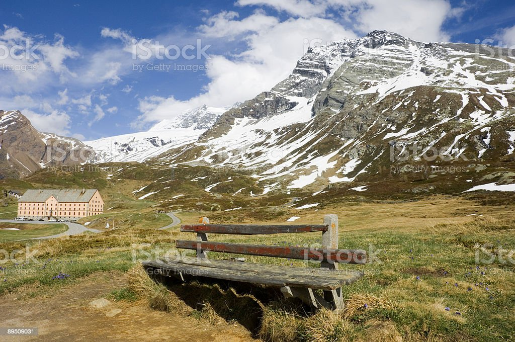 Alpine Summer royalty-free stock photo