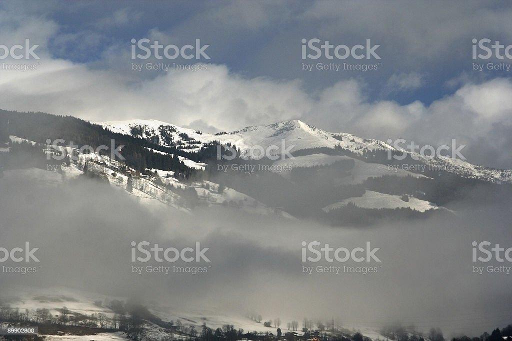 Alpine Gipfel Lizenzfreies stock-foto