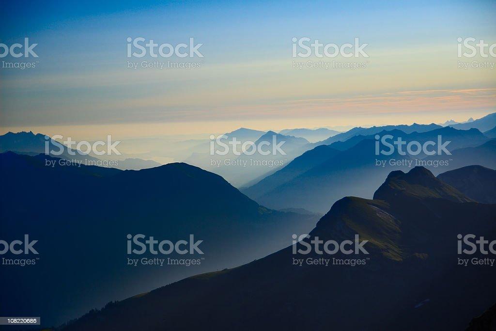 Alpine Sunrise - Royalty-free Beauty In Nature Stock Photo