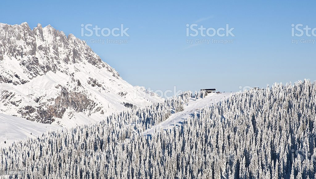 Alpine view royalty-free stock photo
