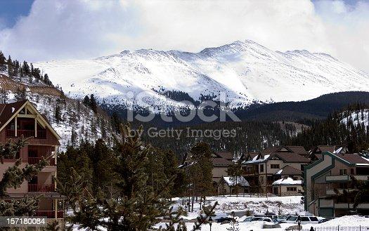 Rocky Mountain Ski Town of Breckenridge.