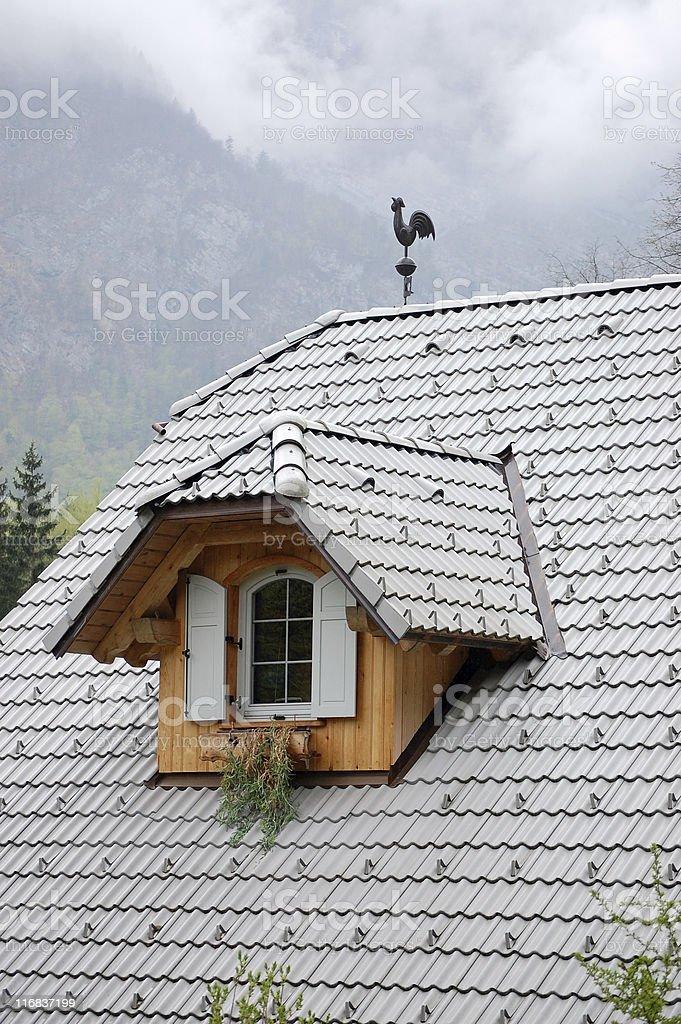 Alpine Window royalty-free stock photo