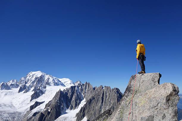 Alpiniste du Mont Blanc - Photo