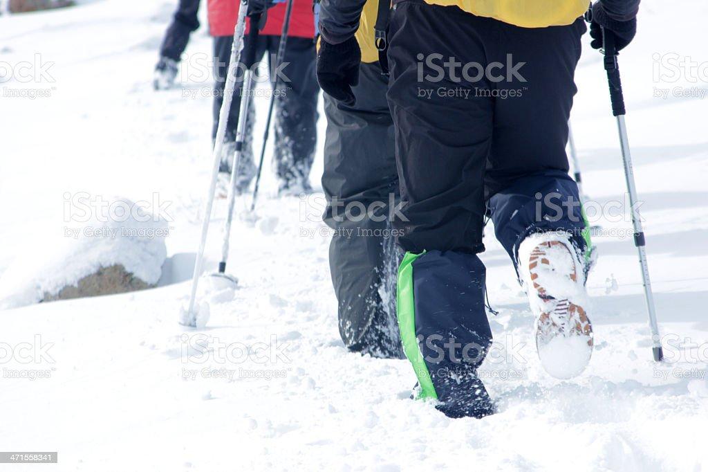 Alpinist stock photo