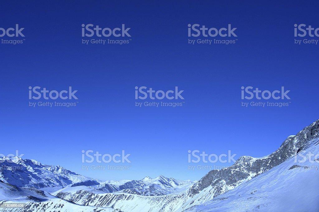 Alps at 3600 royalty-free stock photo
