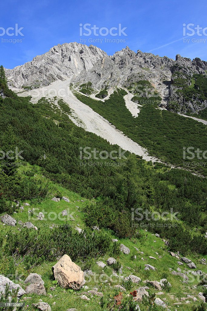 Alps, Austria royalty-free stock photo