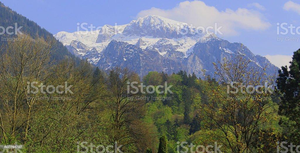 Alps, Berchtesgaden, Germany stock photo