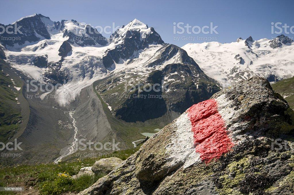 Alps Bernina stock photo