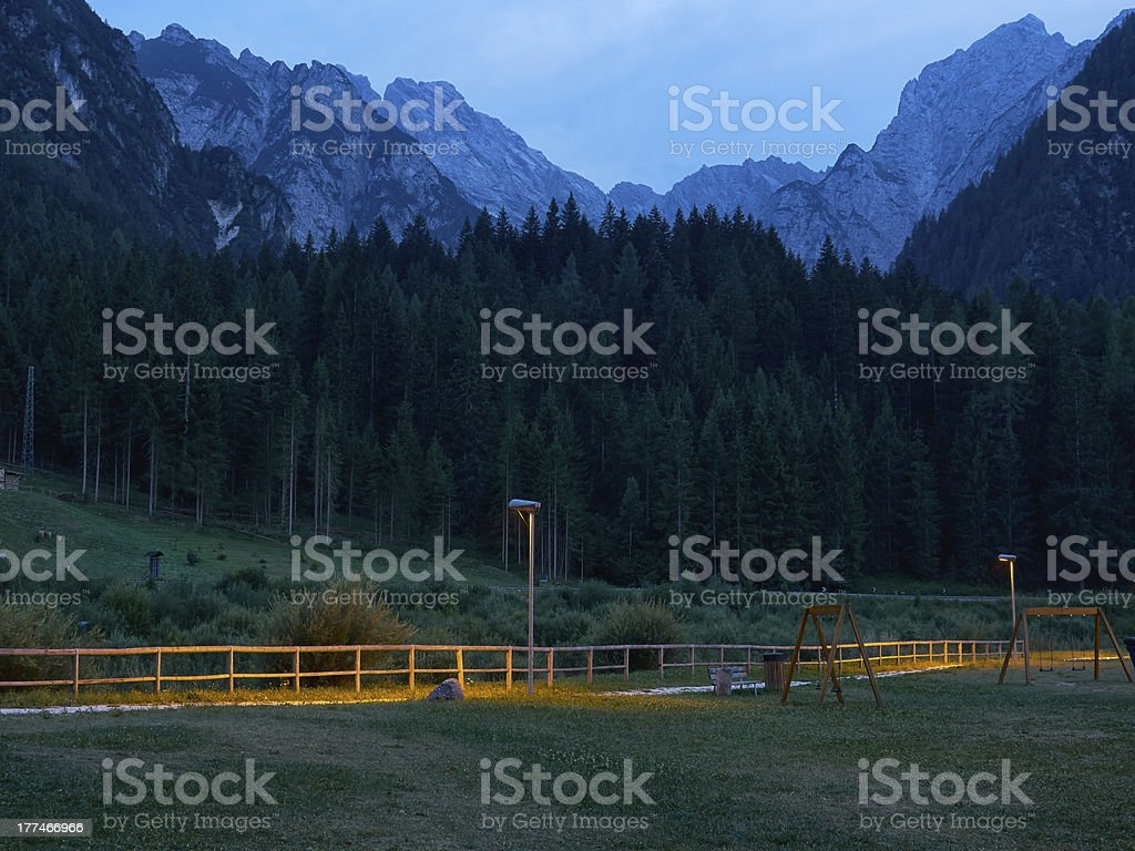 Alps. Color Image royalty-free stock photo