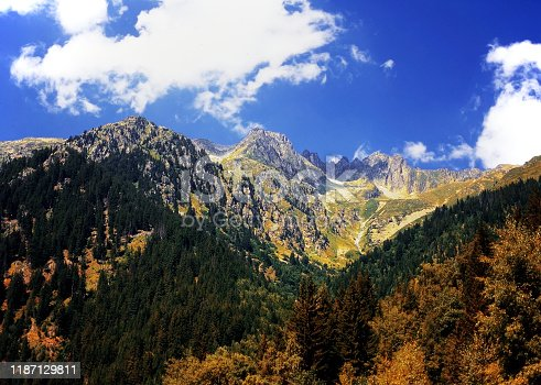 Alps Europe France - scenic view of the mountain range beautiful wild landscape