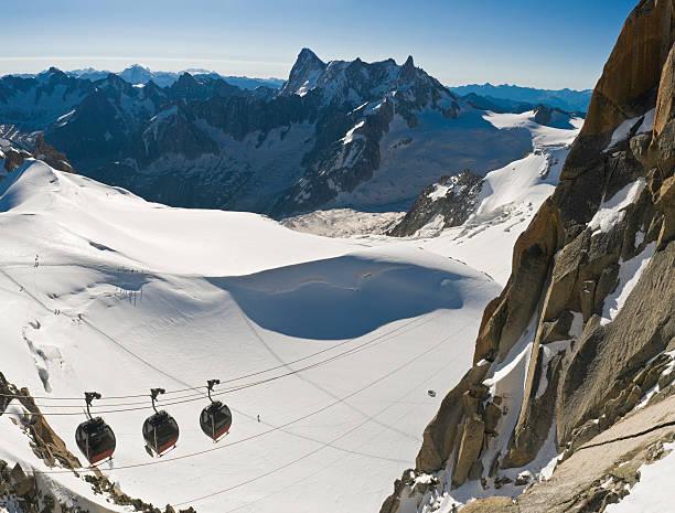 Alpes Gondoles et des glaciers - Photo