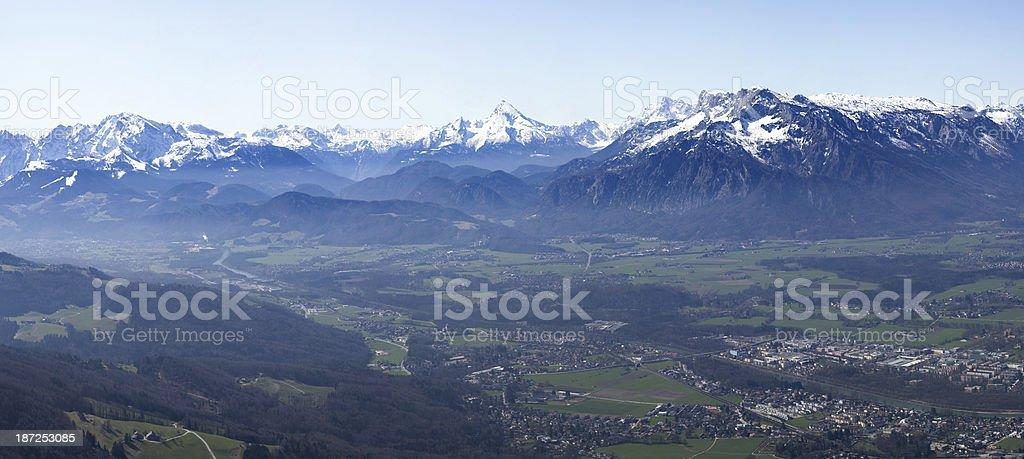 alps in austria royalty-free stock photo