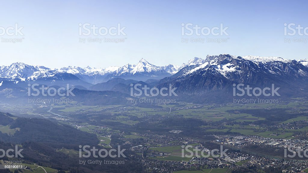 alps in austria royalty-free stock photo