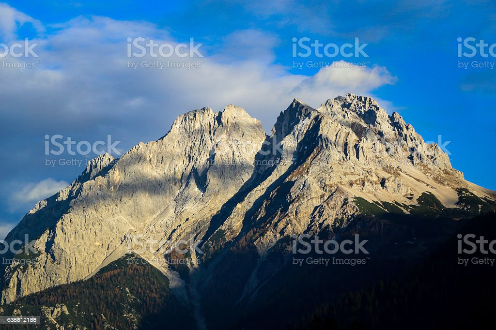 Alps in Tyrol stock photo