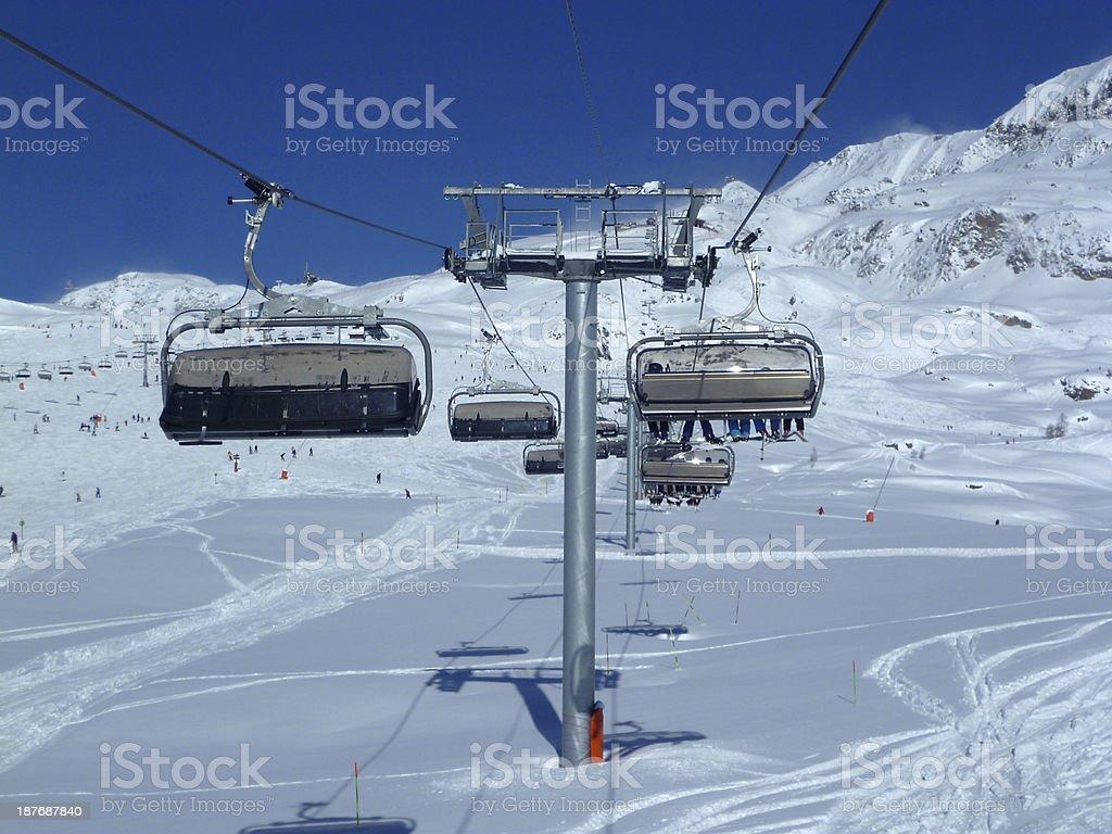 Alps in winter - 11 foto