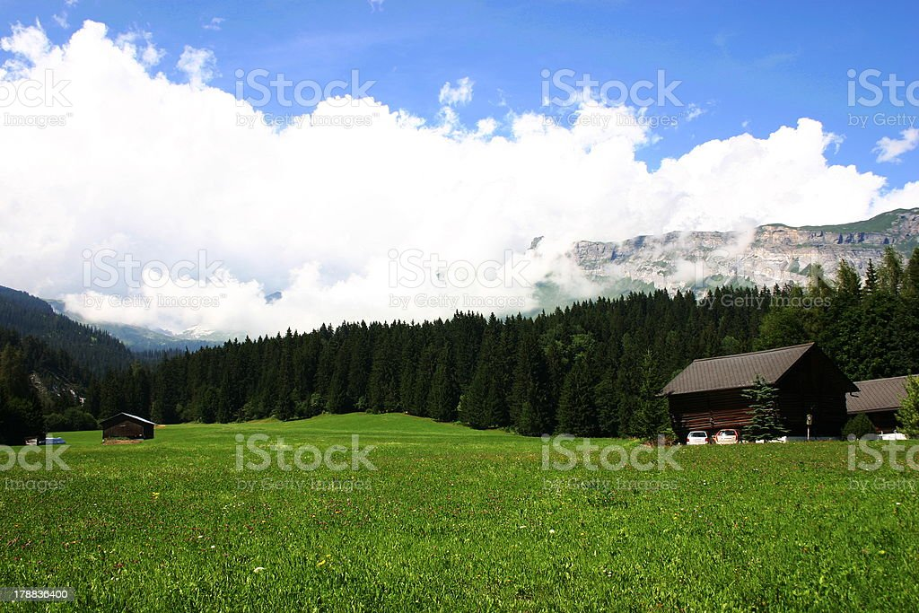 Alps Landscape of Southeat Germany royalty-free stock photo