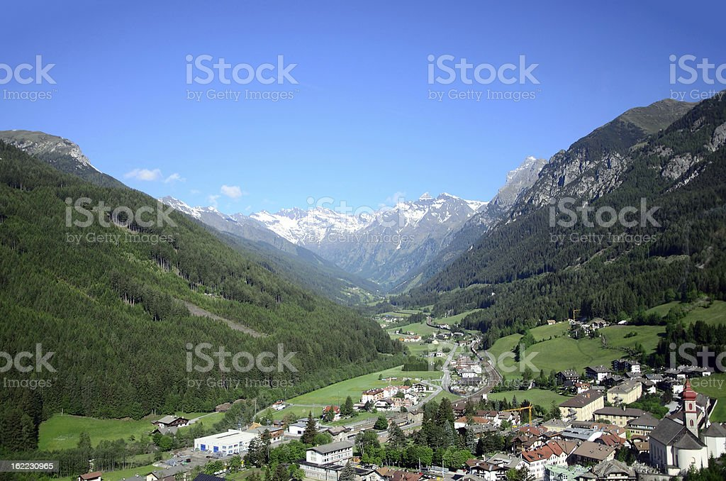 Alps landscape stock photo