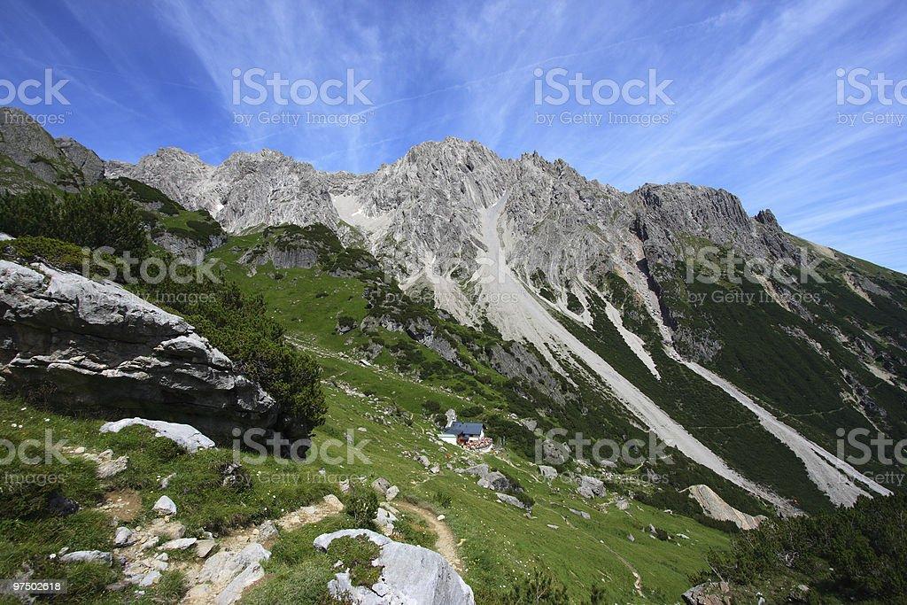 Alps landscape royalty-free stock photo
