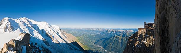 Alpes Mont Blanc, Chamonix Mont Aiguille du Midi. sommets en France - Photo