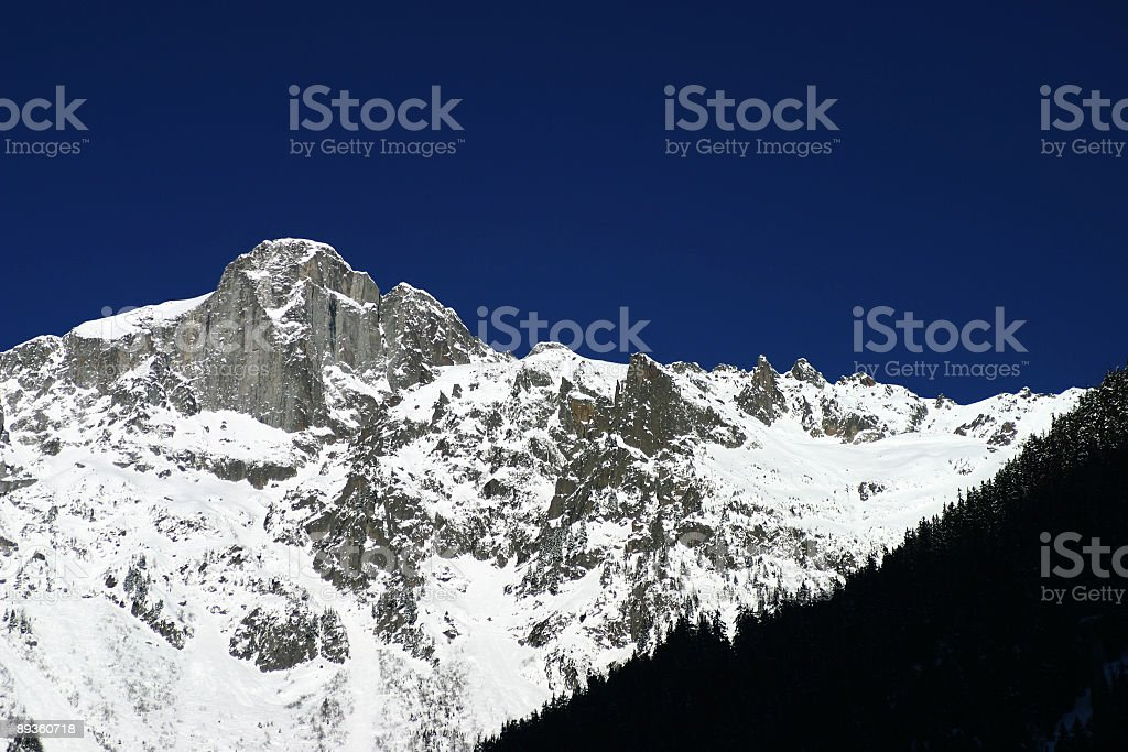 Alps on a perfect day royalty free stockfoto