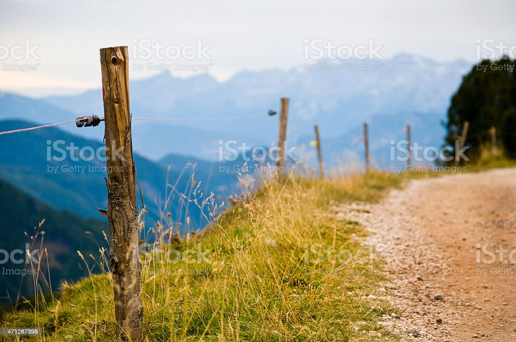 Alps stock photo