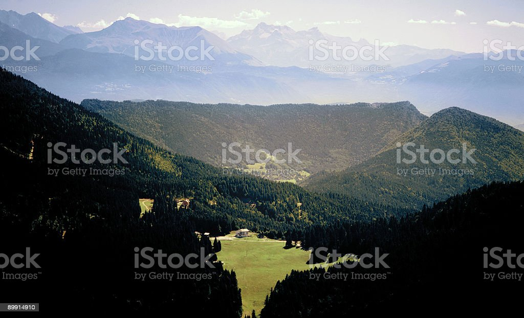 Alpi foto stock royalty-free
