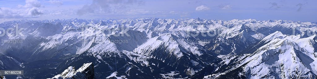 Alps - XXXL royalty-free stock photo