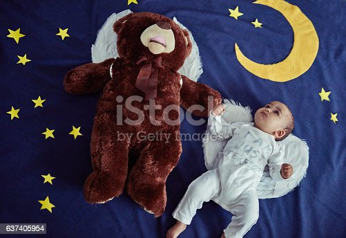 istock Alright Teddy, it's up to us to protect the world 637405954