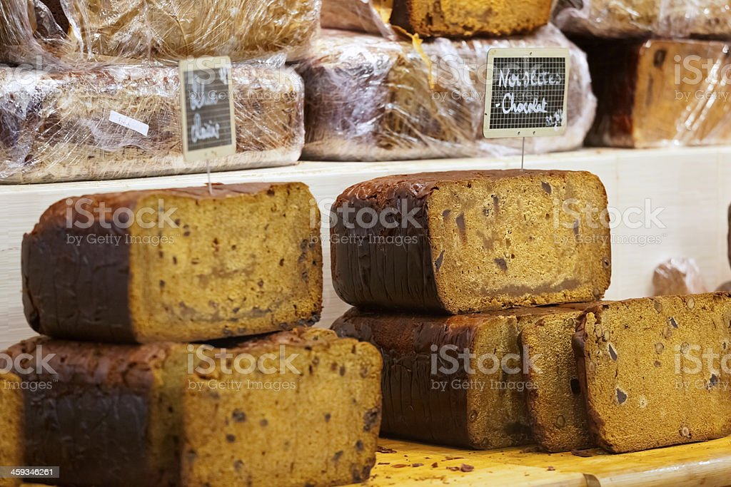 Alsace Spiced Bread stock photo