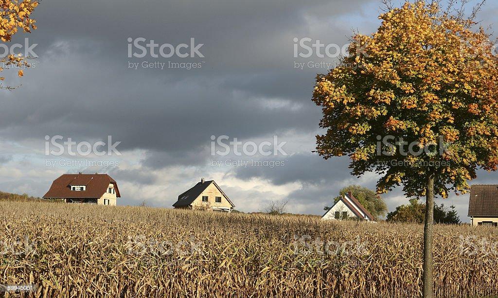 alsacian village5 royalty-free stock photo