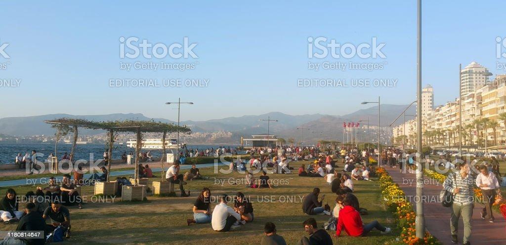 Alsancak Kordon Area In Izmir Turkey Stock Photo Download Image Now Istock