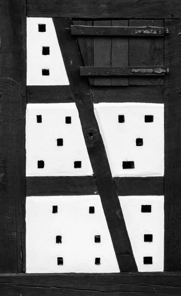 elsassiska arkitektur - hunspach bildbanksfoton och bilder