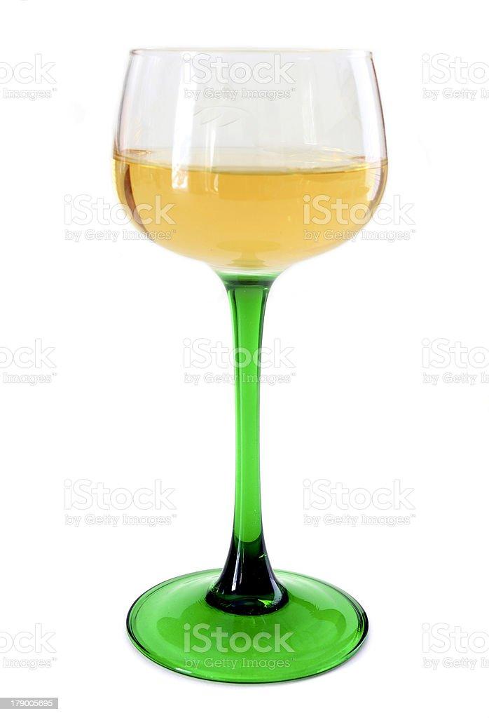 Alsatian glass stock photo