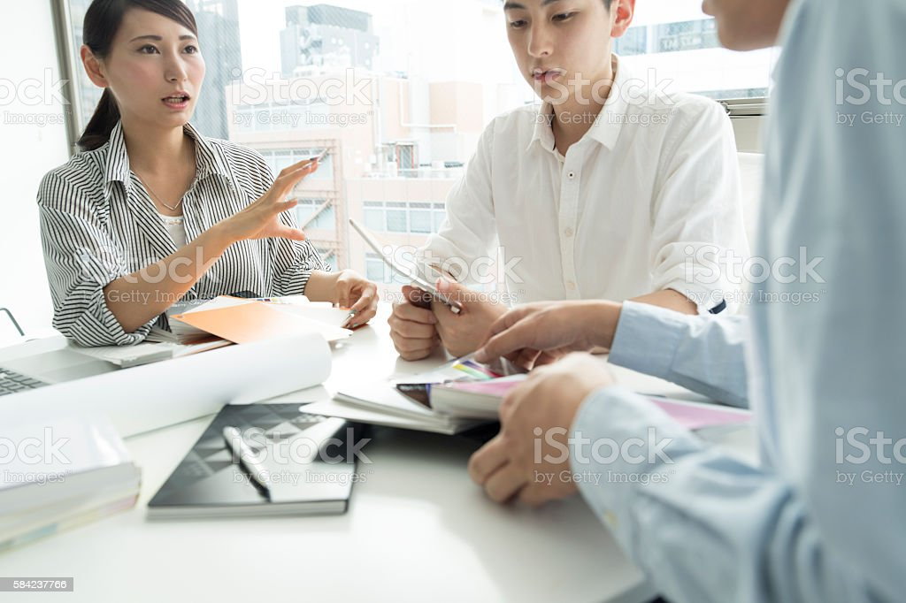 Also one of the important work conversation. stock photo