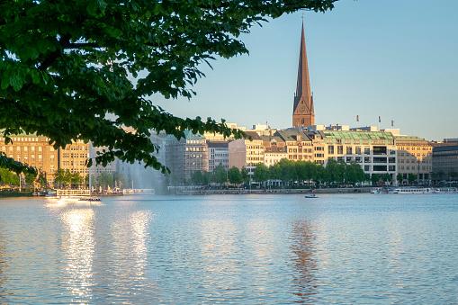 Alster lake - Hamburg, Deutschland