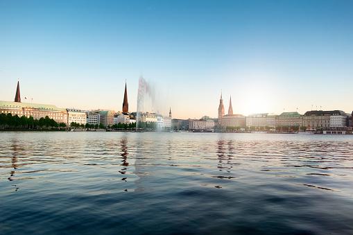 Alster lake - Hamburg, Germany