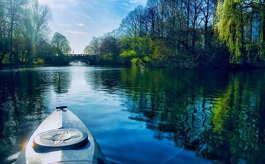 Alsterlake Hamburg Kayaking Trip