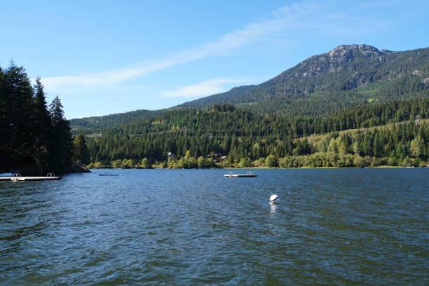 Alta Lake in der Nähe von Whistler in Kanada – Foto